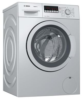 Bosch 7 kg Fully Automatic Front Load Washing Machine (WAK24269IN, Silver)