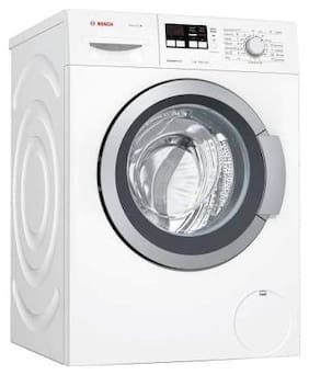 Bosch 7 Kg Fully automatic top load Washer with dryer - WAK2016WIN , White