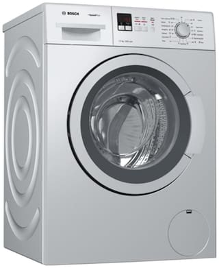 Bosch 7 Kg Fully automatic front load Washing machine - WAK24169IN , Silver