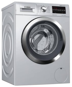 Bosch 8 Kg Fully Automatic Front Load Washing Machine (WAT284691N, Silver)