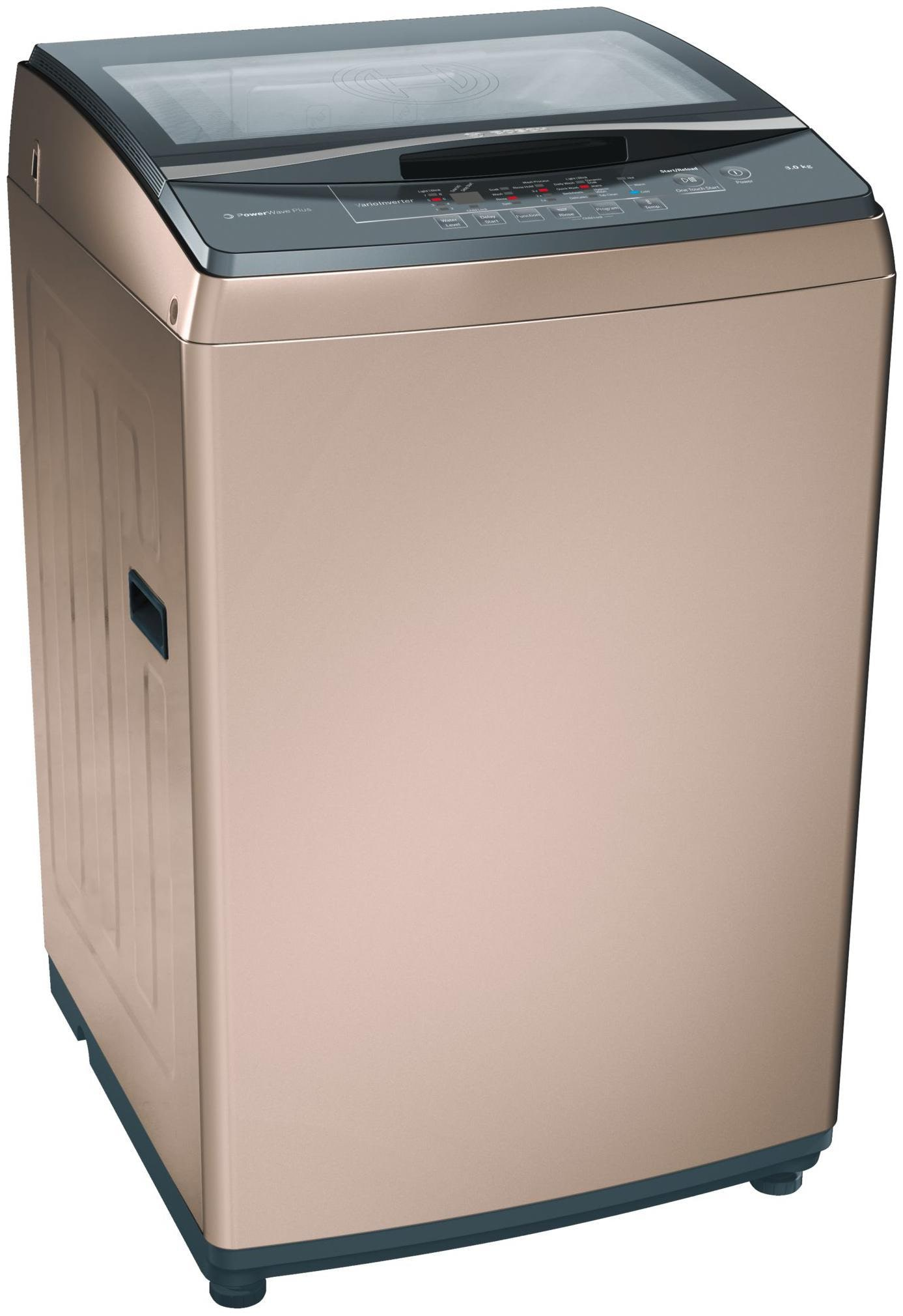 Bosch 8 Kg Fully automatic top load Washing machine   WOA802R0IN , Champagne