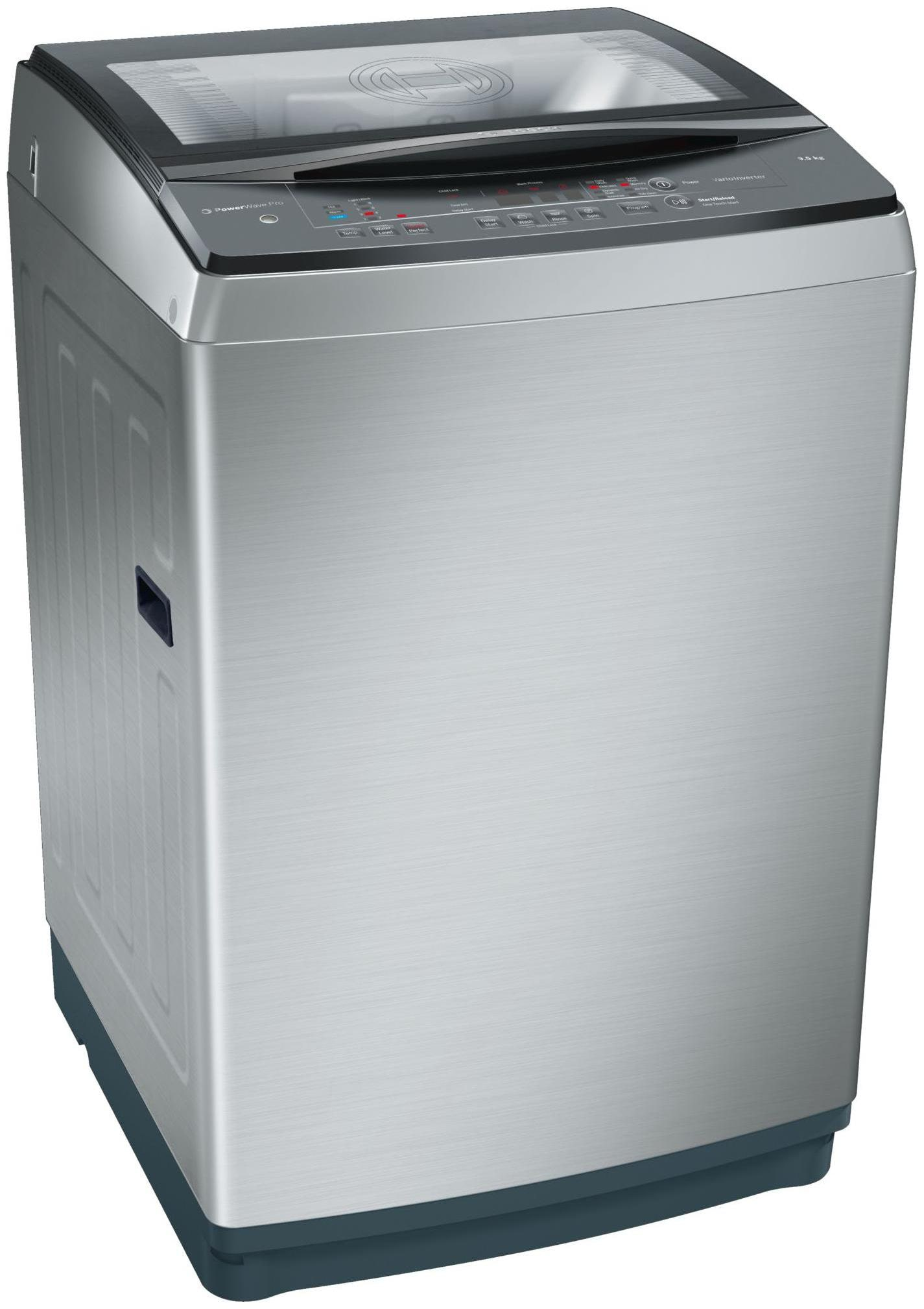 Bosch 9.5 kg Inverter Fully Automatic Top Load Silver