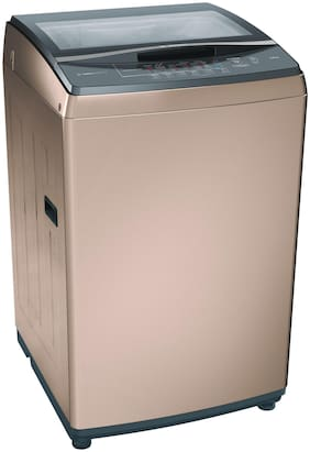 Bosch 8 Kg Fully automatic top load Washing machine - WOA802R0IN , Champagne