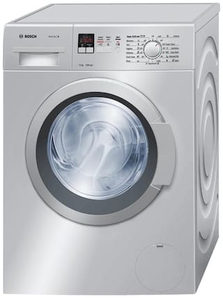Bosch 7 Kg Fully automatic front load Washing machine - WAK24168IN , Silver
