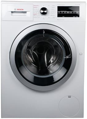 Bosch 8 kg Fully automatic front load Washing machine - WVG30460IN , White