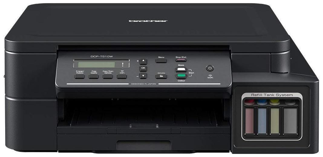 Brother DCP T510W Multi Function Inktank Printer by Tech Market
