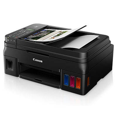 Canon PIXMA G4010 Multi-Function Inkjet Printer (Black)