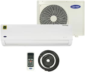 Carrier 1.5 Ton 3 Star Copper (2019 Range) Durafresh Neo CAS18DN3R39F0 Split AC (White)