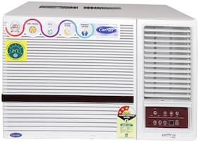 Carrier 1.5 Ton 3 Star BEE Rating Window AC (Estrella Neo (3 Star), White)