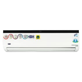 Carrier 1.5 Ton 3 star Inverter Split ac ( Copper Coil , CAI18DN3R39F0 , White )