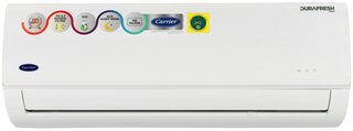 Carrier 1.0 Ton 3 Star (2019 Range) Durafresh Neo CAS12DN3R39F0 Split AC (White) with Copper Condenser