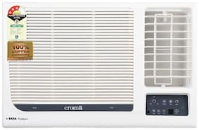 Croma 1.5 Ton 3 Star BEE Rating Window AC (CRAC1152 , White) With Free Installation