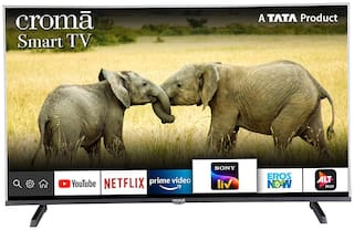 Croma Smart 109.2 cm (43 inch) Full HD LED TV - CREL7361N