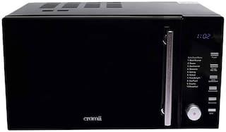 Croma 25 L Convection Microwave Oven - CRAM0191 , Black