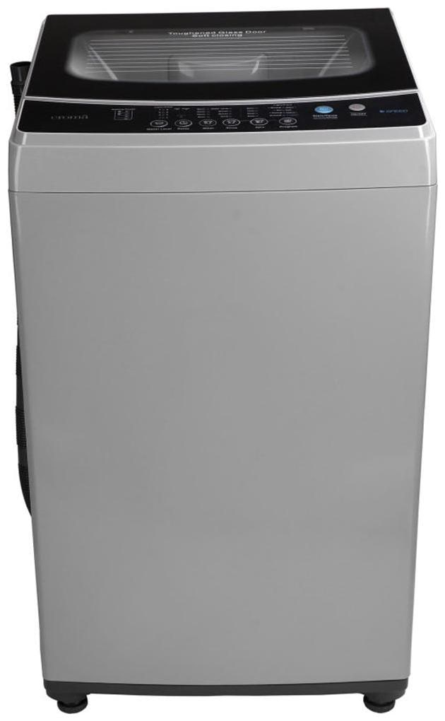 Croma 7 kg Fully Automatic Top Load Washing Machine (CRAW1401 , Grey)