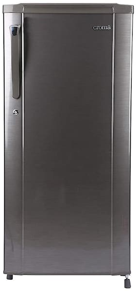 Croma 170 L 2 star Direct cool Refrigerator - CRAR0215 , Silver