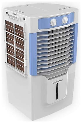 Crompton Genie Neo 10 L Personal Air Cooler (White;Blue)