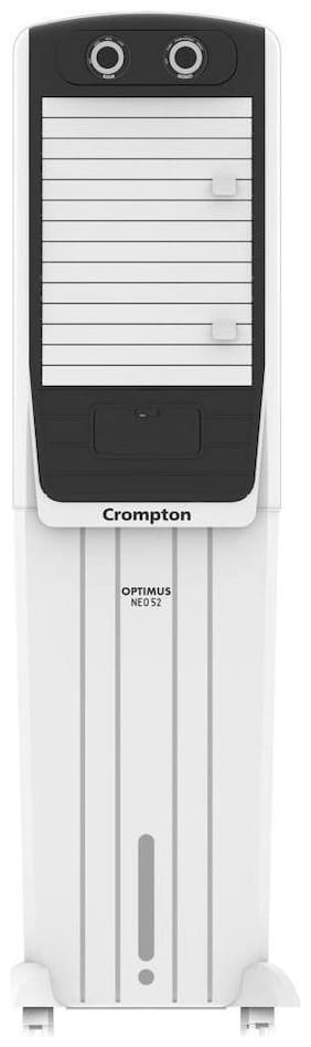 Crompton OPTIMUS NEO 52 52 L Tower Cooler ( White )