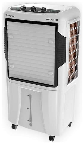 Crompton OPTIMUS 100 100 L Desert Cooler ( White )
