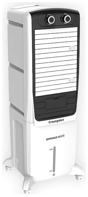 Crompton OPTIMUS NEO 35 35 L Tower Cooler ( White & Black )