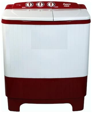 DAENYX 6.2 Kg Semi automatic top load Washing machine - DSAWM6217SIBWO , Red