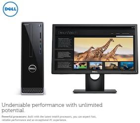 Dell Inspiron 3252 Desktop (Z262301UIN8) (Pentium Quad Core (6th Gen)/4 GB/ 500 GB/18.5'' LED/Linux)  (BLACK)