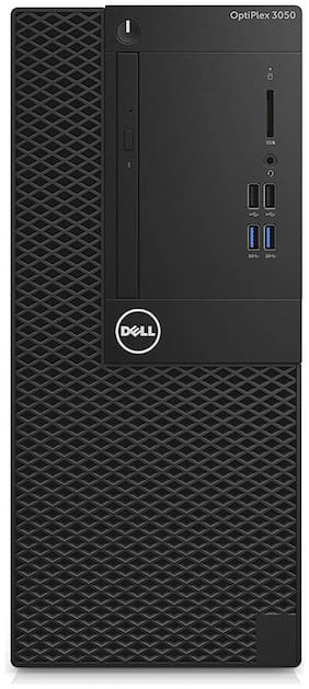 Dell Optiplex 3050 MT (Mini Tower) Dual-Core 7th Gen, 4GB RAM, 1 TB HDD, DOS-Ubantu, Without Monitor