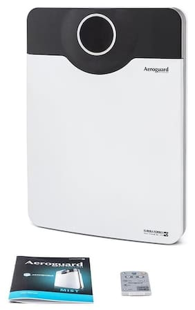 Eureka Forbes Aeroguard Floor Console Air Purifier (Black & White)