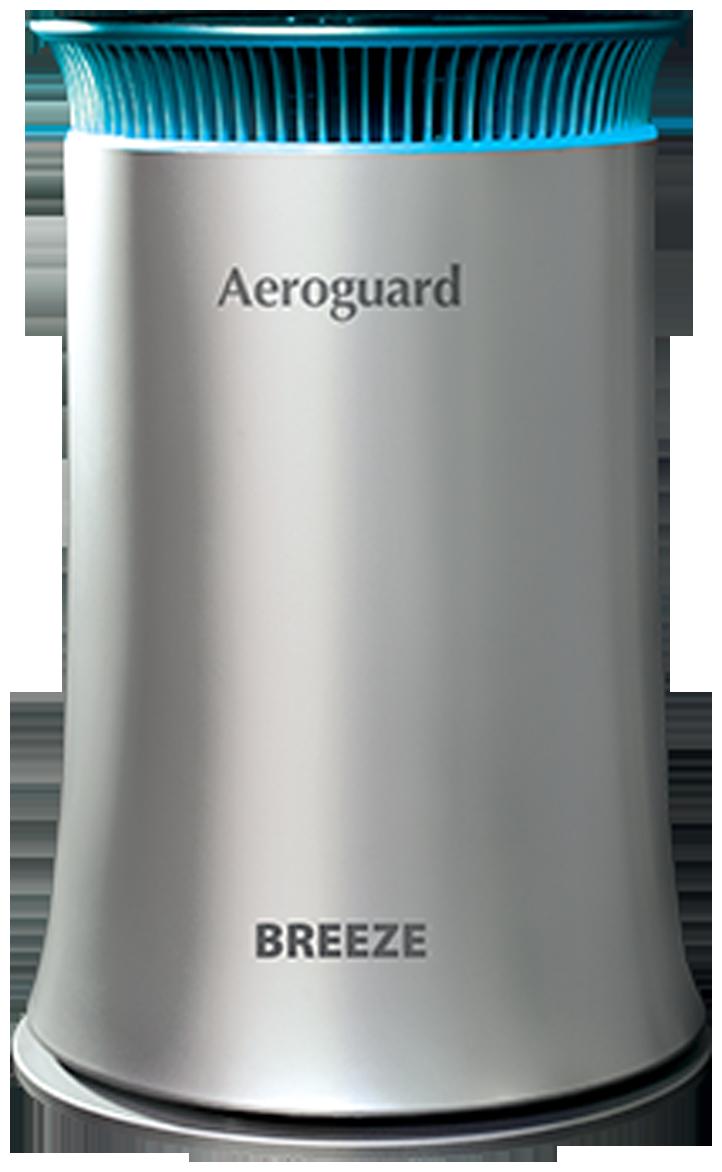 Eureka Forbes Aeroguard Breeze Compact Air Purifier (Grey)