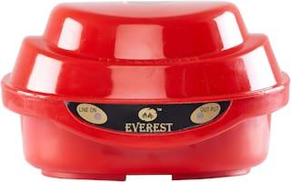 Everest EPS 50 Voltage stabilizer Used For Single Door Refrigerator (100% Copper Winding)(170-270 V)Red