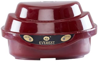 Everest EPS 30 Voltage stabilizer Used For Old Model TV  (100% Copper Winding)(170-270 V) Cherry Red
