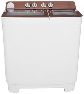 Godrej 10.2 kg Semi automatic top load Washer with dryer - WS EDGE NX 1020 CPBR , Rose gold