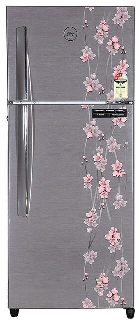 Godrej Frost Free 261 L Double Door Refrigerator (Rt Eon 261 P 3.4 3S, Silver Meadows)