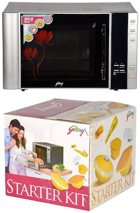 Godrej 30 ltr Convection Microwave Oven - GMX 30CA1 SIM 30L SILVER