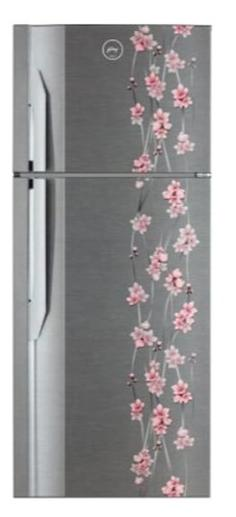 Godrej 311 L Frost Free Double Door 3 Star Refrigerator (RT EON 311 P 3.4, Silver Meadow)