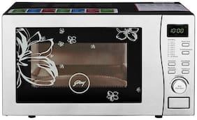 Godrej 19 ltr Convection Microwave Oven - GMX 519 CP1 PZ WHITE ROSE ELEC , White
