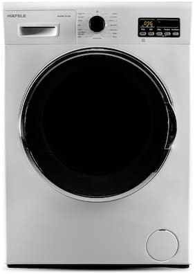 Hafele 7 Kg Fully Automatic Front Load Washer with dryer - MARINA 7512WD , White
