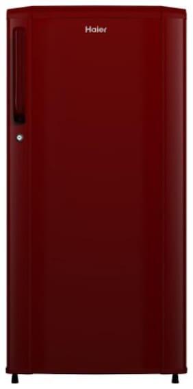 Haier 182 L 2 star Direct cool Refrigerator - HRD-1822BBR-E:REF/HAIER/182L , Burgundy red