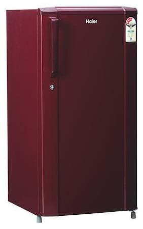 Haier 190 L 3 star Direct cool Refrigerator - HRD-1922BBR-E , Maroon