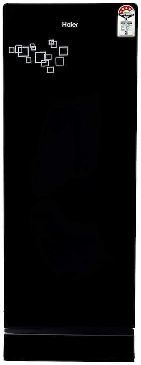 Haier 220 ltr 4 star Direct cool Refrigerator - HRD-2204PMG-E , Mirror glass