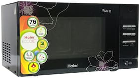Haier 23 L Convection Microwave Oven - HIL2301CBSB , Black