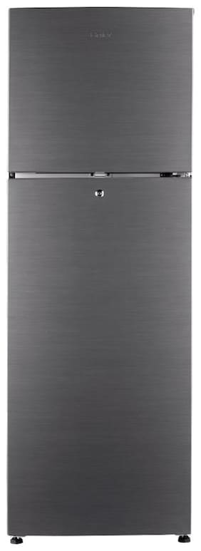 Haier 258 L 3 star Frost free Refrigerator - HRF-2783BS-E , Silver