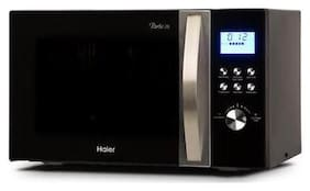 Haier 28 l Convection Microwave Oven - HIL2810EGCF , Black