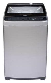 Haier 6.2 Kg Fully automatic top load Washing machine - HWM62-707E , Silver grey