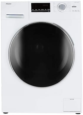 Haier 6 kg Fully Automatic Top Load Washer with dryer - HW60-10636WNZP , White
