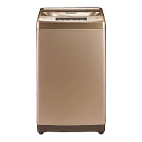 Haier 8.2 kg Fully automatic top load Washer with dryer - HSW82-789GNZP , Gold