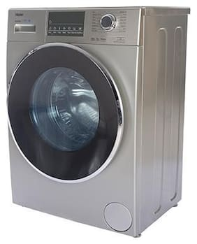 Haier 8 kg Fully Automatic Front Load Washing machine - HW80-IM12826TNZP , Grey