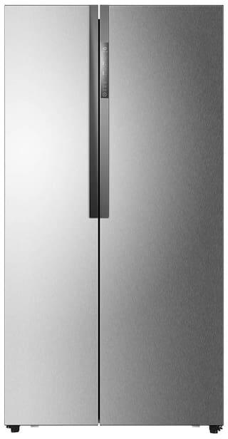 Haier Frost Free 565 L Side By Side Refridgerator ( Hrf-618ss , Stainless Steel )