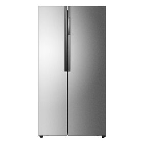 Haier Frost Free 565 L Side By Side Refrigerator (HRF-618SS, Stainless Steel)