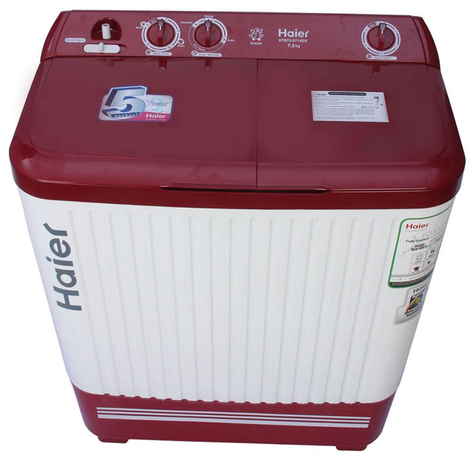 HAIER XPB72-714D 7.2KG Semi Automatic Top Load Washing Machine